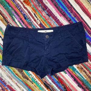 Hollister Chino Shorts Blue Size 3